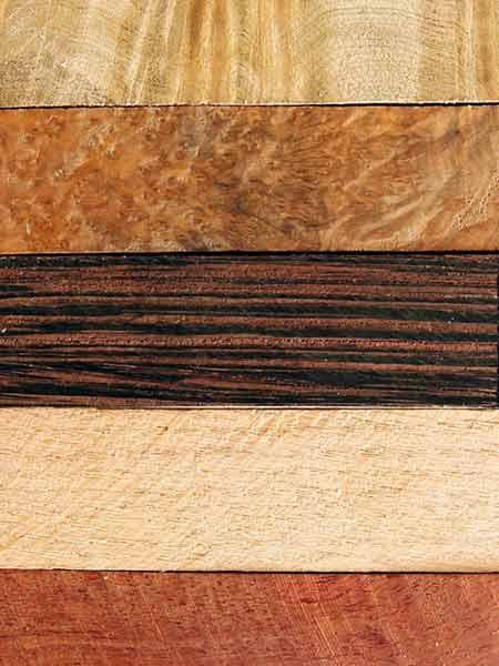 Welke houtsoorten behandelen