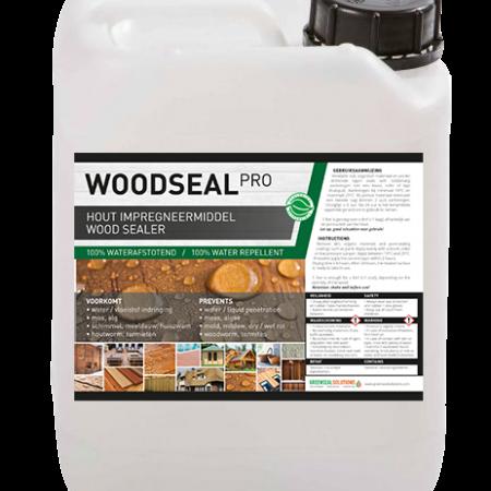 Woodseal Pro, hout waterdicht maken, hout impregneren, hout impregneer spray, hout nano spray