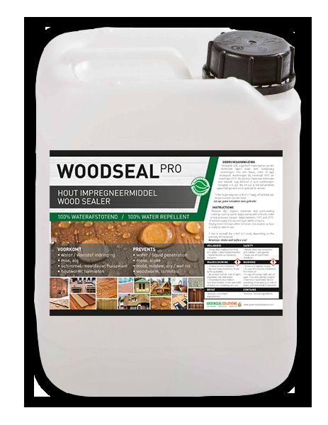 Woodseal Pro - hout behandelen impregneren waterdicht maken